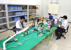 J-PARC研究棟_電子回路制作室風景